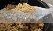 発芽酵素玄米